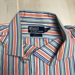 Polo by Ralph Lauren Shirts - Polo Ralph Lauren Striped Dress Shirt 17 XL